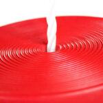 Columpio disco rojo